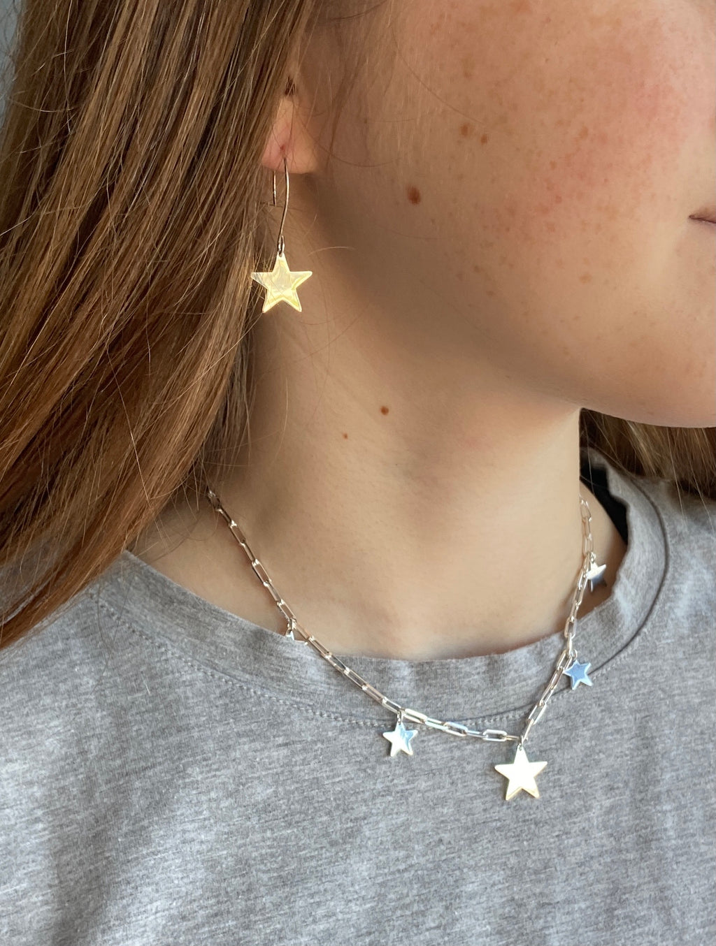 Multi 925 star 🌟 necklace