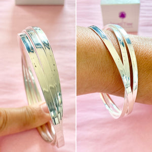 925 Russian treble Bangle