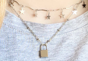 Stainless steel satellite chain with pendant