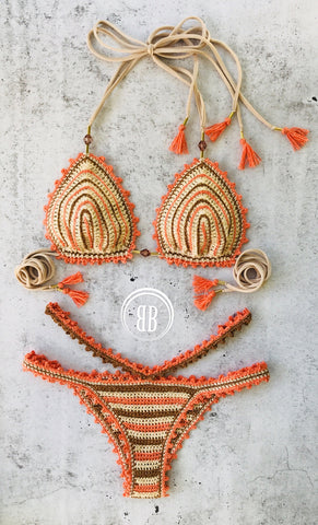 Costa collection crochet bikini