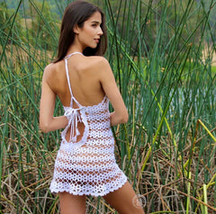 Angel Crochet Beach Dress