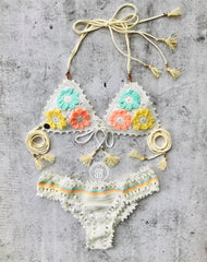 floratta collection crochet bikini