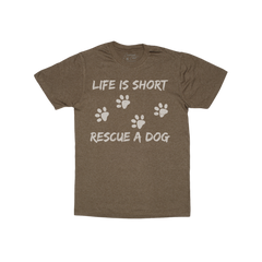 Rescue Apparel [Dog lover T-shirts for humans] - TrueDrool.com