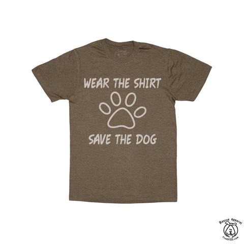 Dog lover T-shirts - $2 Give Back... every shirt, every day.