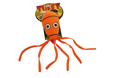 TUFFY SQUID-LG [durable dog toy] - TrueDrool.com