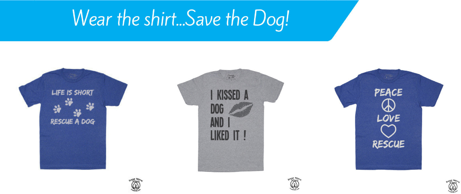 Rescue Apparel [ Dog Lover T]