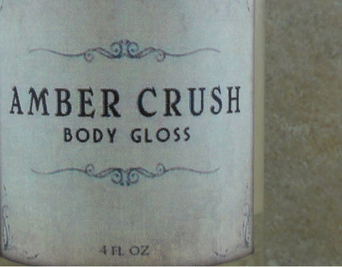 Amber Crush Body Gloss