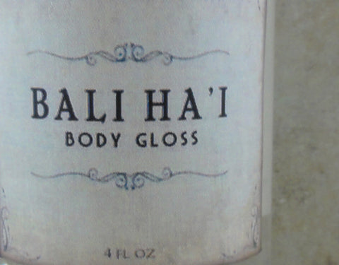 Bali Ha'i Body Gloss