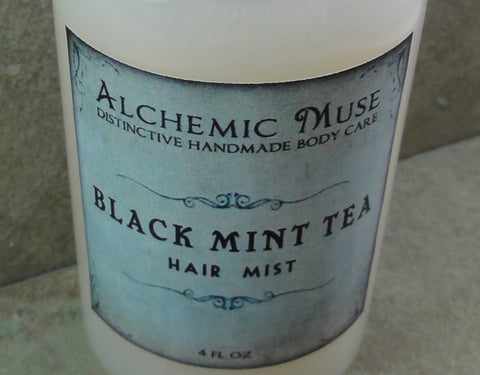 Black Mint Tea Hair Mist