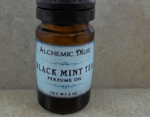 Black Mint Tea Perfume Oil