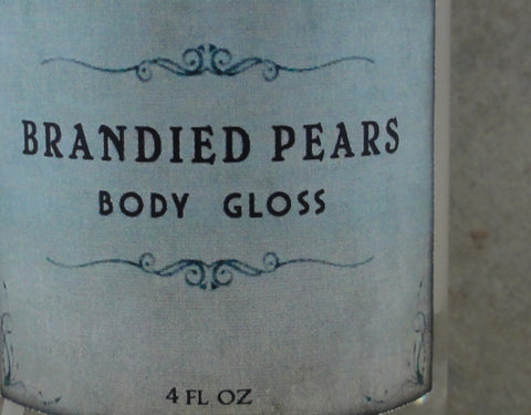 Brandied Pears Body Gloss