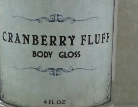 Cranberry Fluff Body Gloss