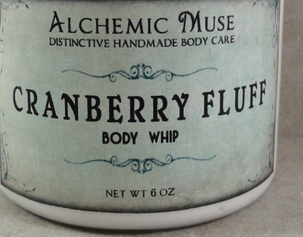 Cranberry Fluff Body Whip