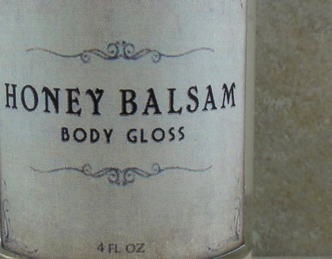 Honey Balsam Body Gloss