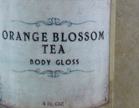 Orange Blossom Tea Body Gloss