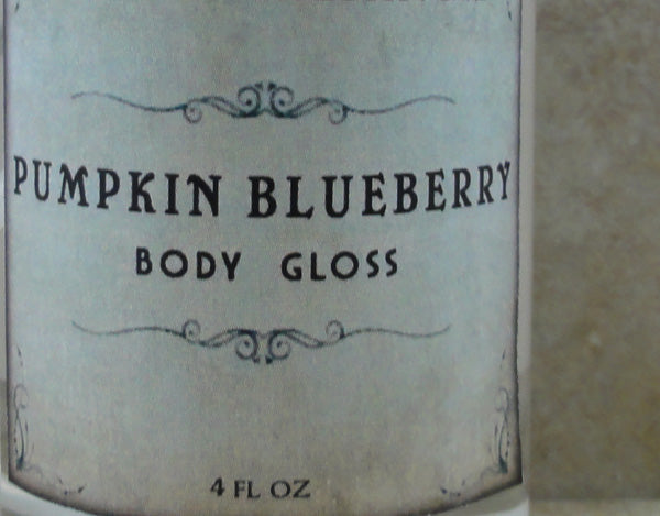 Pumpkin Blueberry Body Gloss