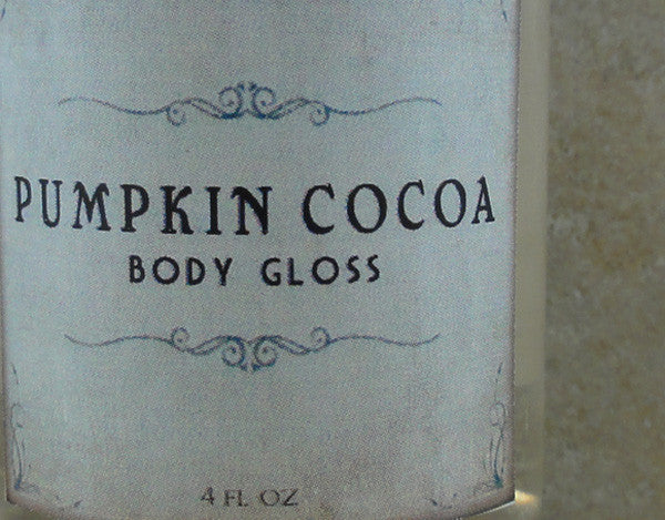 Pumpkin Cocoa Body Gloss