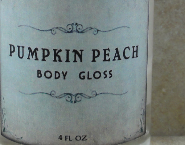 Pumpkin Peach Body Gloss