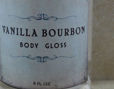 Vanilla Bourbon Body Gloss