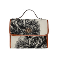 Reining Horse Canvas Handbag