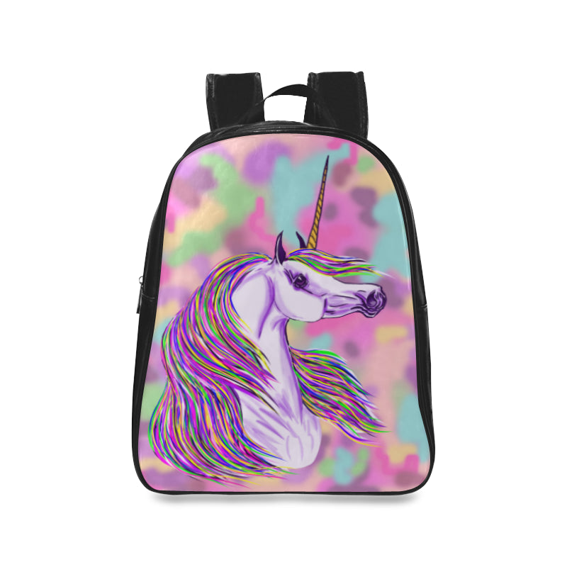 Unicorn Leather Back Pack