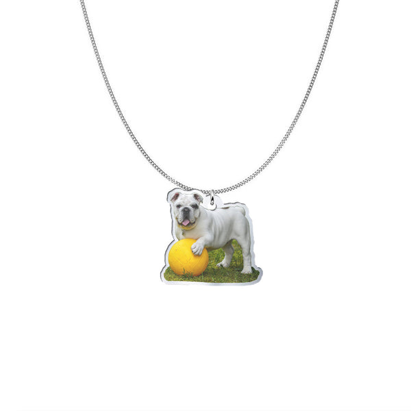 YOUR DOG Sterling Silver Necklace