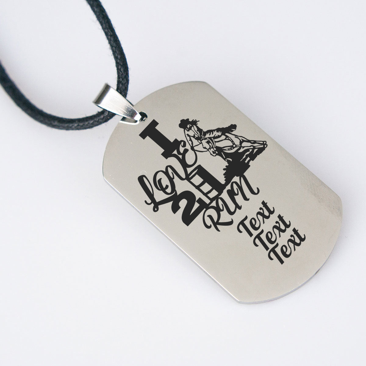Personalized Barrel Racing Necklace