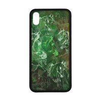 "Arabian Horse Rubber Case for Iphone XS Max (6.5"") Dark Colors"