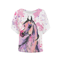 Arabian Horse Fantasy Watercolor Tee