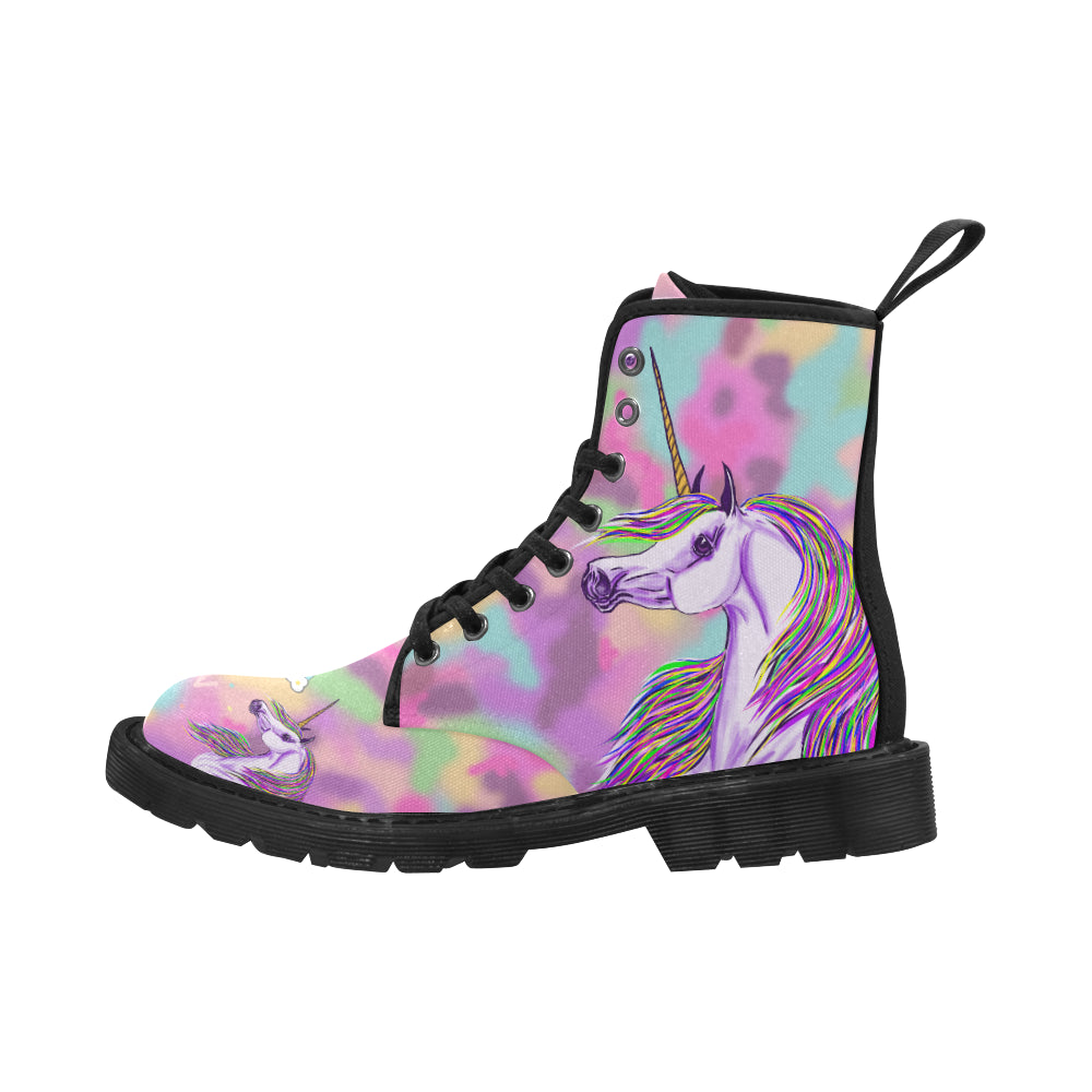Unicorn Lace up Boots