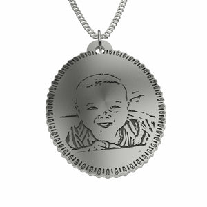 Personalized Photo Pendant