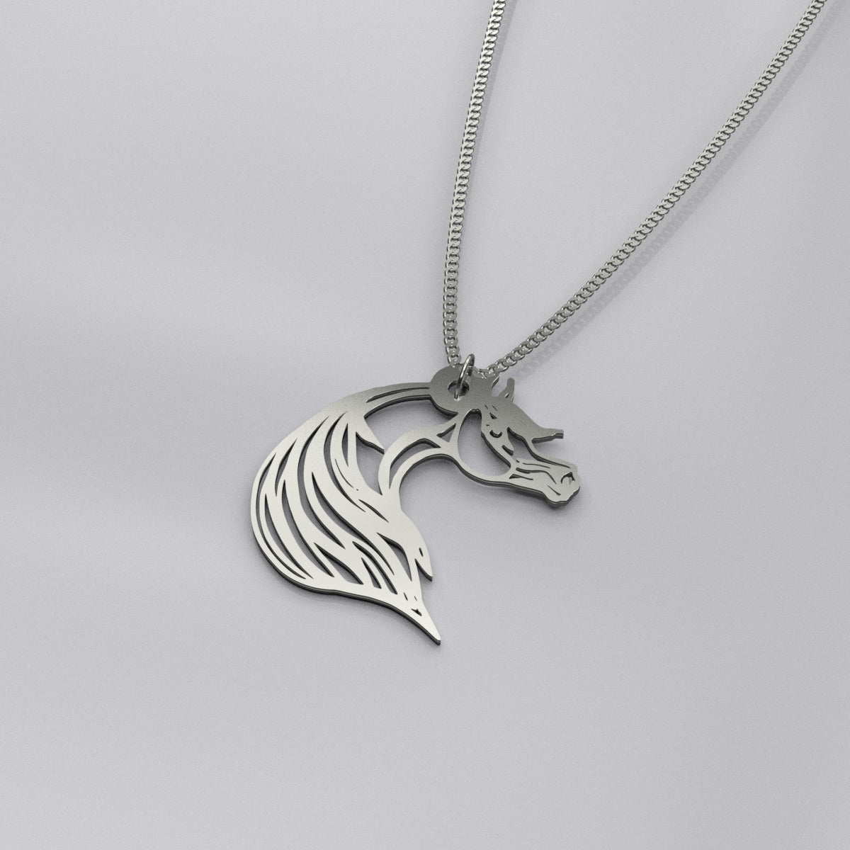 Simply beautiful Arabian Silver Necklace