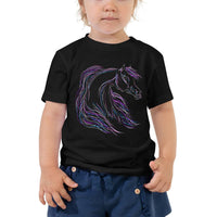 Fantasy Horse Toddler Short Sleeve Tee
