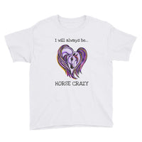 Horse Crazy Youth Short Sleeve T-Shirt