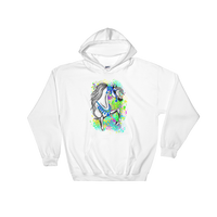 Arabian Horse Native Costume Hooded Sweatshirt
