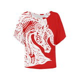 Arabian Horse White Tribal Lace Ladies Shirt