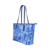Blue Mad Scientist Gothic Horror Theme Tote Bag