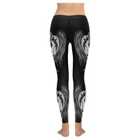 Graphite Arabian Horse Heart Leggings
