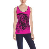 Dream Horse Andalusian Morgan Mustang Mandala Tank top