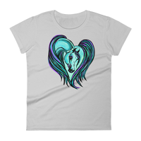 Arabian Horse heart Women's short sleeve t-shirt