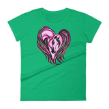 Arabian Pink Heart Women's short sleeve t-shirt S - 2XL