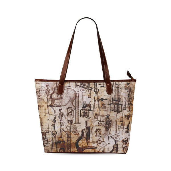 Mad Scientist Large Tote Bag