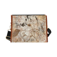 Vintage Arabian Horse All Over Hand bag