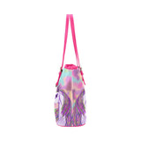 Magical Unicorns PU Leather Hand Bag