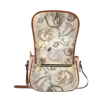 Vintage Horse All Over Hand bag