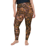 STEAMPUNK Gears Plus sized All-Over Print Plus Size Leggings