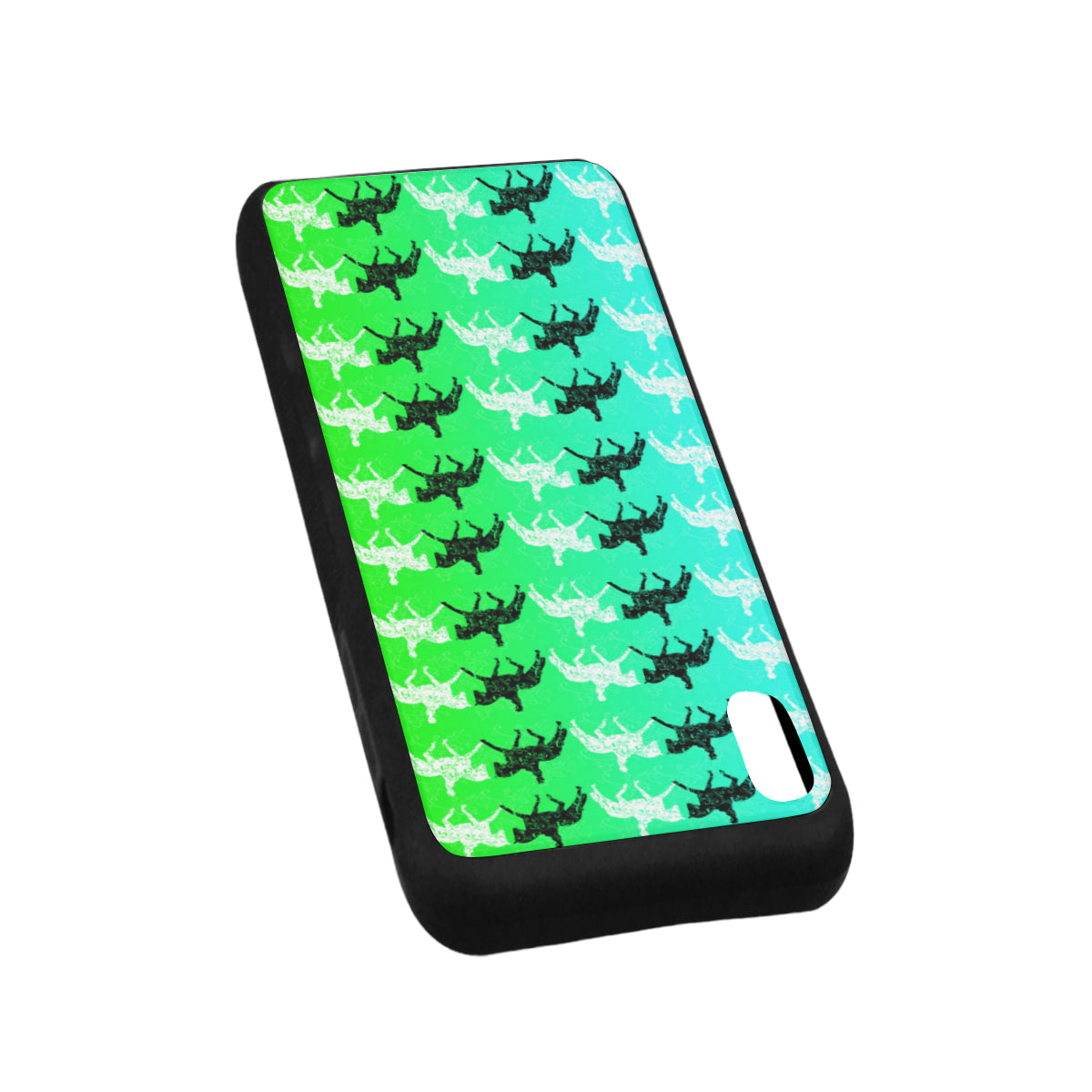 "Dressage Horse lime Iphone XS Max (6.5"") Case"