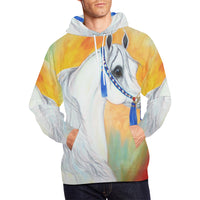 Arabian Horse Native Halter All over Unisex Hoodie
