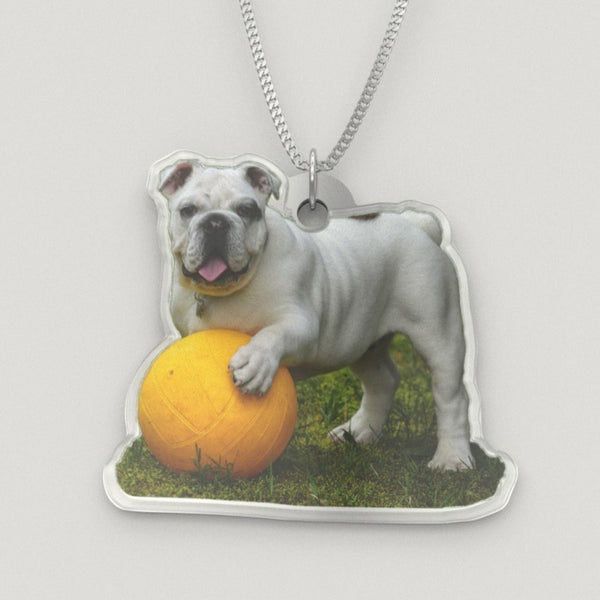 PET PHOTO PORTRAIT on a Sterling Silver Necklace