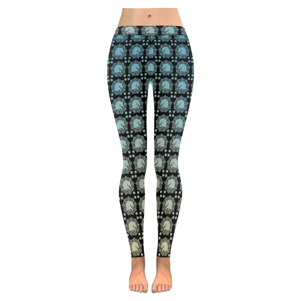 Arabian Horse Exotic Mandala Leggings